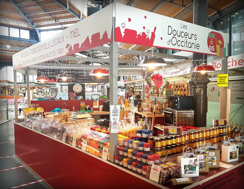 Marché couvert d'Albi - Loge - Les douceurs d'Occitanie